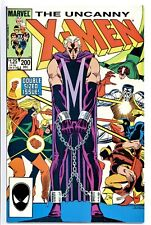 1)UNCANNY X-MEN #200(12/85)TRIAL OF MAGNETO(WOLVERINE/STRUCKER TWINS)CGC IT(NM-)