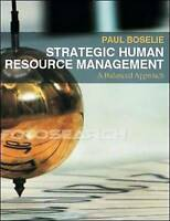 Strategic Human Resource Management: A Balanced Approach, Boselie, Paul, Used; G