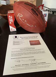 Patrick Mahomes Autographed Super Bowl 54 LIV Chiefs Football Beckett Letter COA