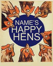 Happy Vintage Art Posters