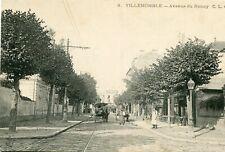 Carte VILLEMOMBLE Avenue du Raincy
