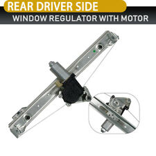 Power Window Regulator For 01-05 BMW 325i 2000 323i Rear Driver Side With Motor