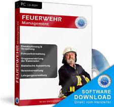 Feuerwehr,Feuerwehrorganisation verwalten, Software
