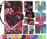 NEW! Credit Card Leather Wallet Case Flip Stand Pouch Cover for various LG phone