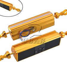 Rotierende Bluetooth Motorrad Stereo LED Lautsprecher Audio System USB SD für