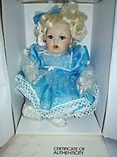 BABY MIRACLES TINY TOT  DOLL FROM MARIE OSMOND w/box and COA