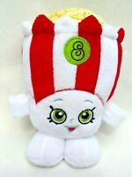 Shopkins Poppy Corn Red White PopCorn Soft Plush Toy 15CM