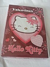 New Sanrio Valentines Hello Kitty Message Card Set Red Heart