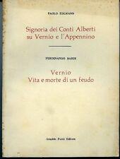 Paolo Edlmann. Signoria dei Conti Alberti su Vernio e l'Appennino