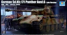 German Sd.Kfz.171 Panther Ausf.G Late Panzer Tank 1:16 Model Kit Trumpeter 00929