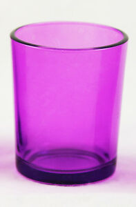 Cassis Glass Tealight Candle Holder Table Birthday Wedding Party BUY QTY Req
