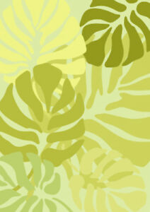 Monstera Leaf Stencil Large Painting Wall Furniture Wood Reusable Craft Art FL32
