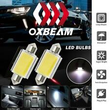 Oxbeam 2x 41mm Canbus COB LED Light Lamps Bulbs Car Interior License Plate Bulbs