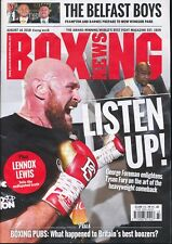 Boxing News Magazine May 31st 2018 Brendon Ingle Dean Francis