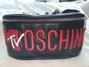 H&M Moschino 2018 Embroidered Waist Bag Fanny Pack Jeremy Scott