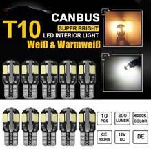 10X T10 SMD 8 LED Canbus Auto Licht Standlicht Kennzeichenbeleuchtung Lampe 12V
