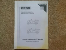 EZGO ELECTRIC MPT/INDUSTRIAL800, MPT/INDUSTRIAL1000 OWNERS MANUAL (ref176)
