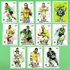 2001 CANBERRA RAIDERS RUGBY LEAGUE CARDS