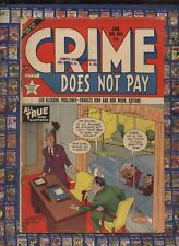 CRIME DOES NOT PAY #106 LEV GLEASON  1954 Deadly Doll