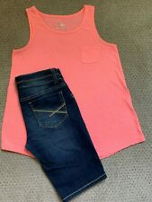 Supercute! TRENDY JUSTICE Mudd Girls SIZE 14 /16 2 Pc Outfit