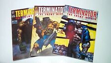 Terminator The Enemy Within #'s 1, 2, & 3 (Dark Horse)1991 -- UNREAD -- VF/NM