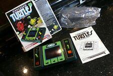 ENTEX TURTLES Vintage Handheld Electronic Tabletop Arcade video game  ✨with BOX✨