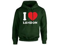 I Love London Unisex Hoodie (8 Colours)
