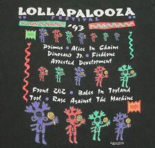 M/L * vtg 90s 1993 Lollapalooza tour t shirt * medium large * 94.14