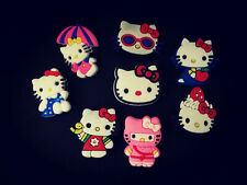 Hello Kitty Schuhcharms Anstecker Accessories Pins Buttons Jibbitz Croc Gift