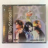 FINAL FANTASY VIII FF8 Playstation PS PS1 Black Label NO MANUAL Video Game