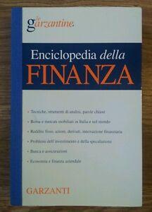 Enciclopedia della finanza le garzantine