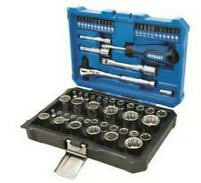 Kobalt 64-pc standart SAE / MM combination polished chrome ,mechanics tool set