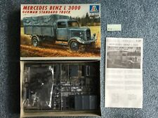 Italeri 1/35 287 Mercedes Benz L 3000 kit modelo de camión alemán