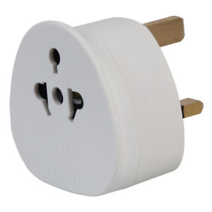 Worldwide America Canada Brazil Mexico Visitor to UK Travel Adaptor Converter