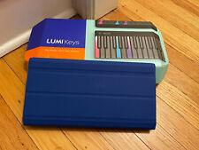 Lumi Keys by Roli Portable Illuminated Keyboard With Snapcase.