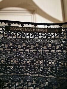 Bolongaro trevor dress All Saints Designer Lace Navy