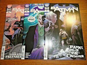 Batman #92,93,94 Run of 3 Joker Lot Designer Punchline 1st Pr Set Detective DC