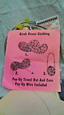 Birch Street PATTERN for Pop Up Travel Hat & Case Set with Wire for 2 hats DIY