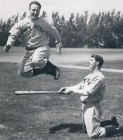 "Joe DiMaggio & Lou Gehrig - 8"" x 10"" Photo - 1938  - New York Yankees"