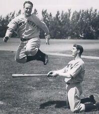 "Joe DiMaggio & Lou Gehrig - 8"" x 10"" Photo - 1938  - New York Yankees"