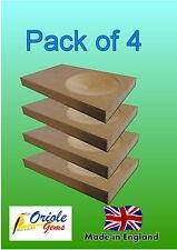 Paquete De 4 periquito Nido De Caja Anillo