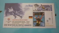 2002 WINTER OLYMPIC GAMES GOLD MEDAL WIN COVER, CLAUDIA PECHSTEIN SPEED SKATING