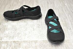 **You by Skechers Serene Vanity 15866 Comfort Shoes, Women's Size 5, Black NEW