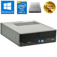 PC COMPUTER DESKTOP RICONDIZIONATO FUJITSU E400 CORE i3 4GB SSD 120GB WINDOWS 10