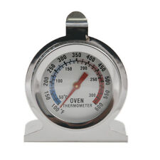 Stainless Steel Oven Cooker Thermometer Temperature Gauge Stand & Hang 0-300ºC