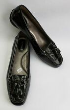 Sperry Top Sider Shoes Flats Black Tassel Patent Leather Womens Size 9 M
