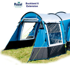 Royal Buckland 8 Extension - Zip on canopy specifically for Buckland 8 Tent