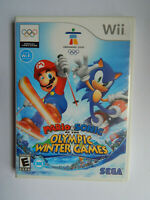 Mario & Sonic at the Olympic Winter Games Game Complete! Nintendo Wii