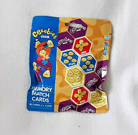 CBEEBIES Memory Match Cards Puzzle Learning Shape 20 (5 x 4.3cm each) in Bag