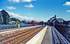 PHOTO  LAZONBY RAILWAY STATION 2000 VIEW SE TOWARDS AIS GILL SETTLE LEEDS AND TH